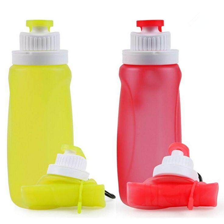 【日本JP370】子供用シリコン水筒 折り畳みボトル 六色 320ml 販促贈り物  携帯式フック付き 食品グレード 耐熱 アウトドアスポーツ仕入れ、問屋、メーカー・生産工場・卸売会社一覧