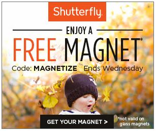 FREE Photo Magnet from Shutterfly! ($8.99 value) http://becomeacouponqueen.com