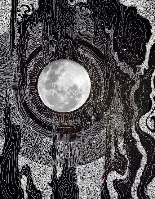 "vufus: ""Moon Glows"" Artist : Brenda Erickson"