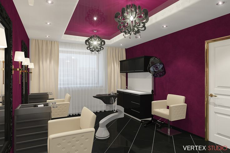 """3D-Визуализация студии красоты """"Beauty Secret"""". Заказчик: Cept Design Studio cept-design.ru Все работы на сайте 3d-visual.ru #3dvisual #3двизуализация #3d #3д #визуализация #дизайн #design #интерьер #interior #studio #salon #beauty #style #стиль #гостевая #barbershop #студия #салон #салонкрасоты #парикмахерская #красоты"""