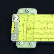 The humble slide rule
