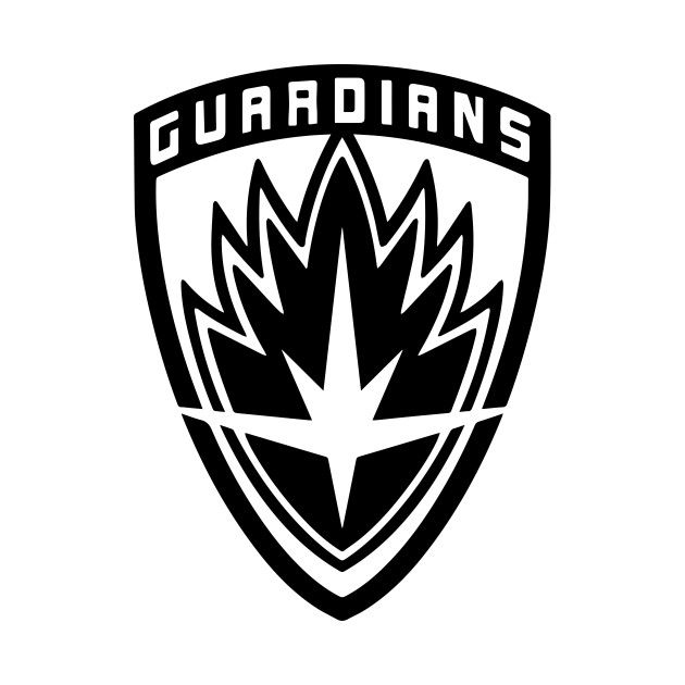 Marvel Heroes Car Magnet Guardians of the Galaxy Logo