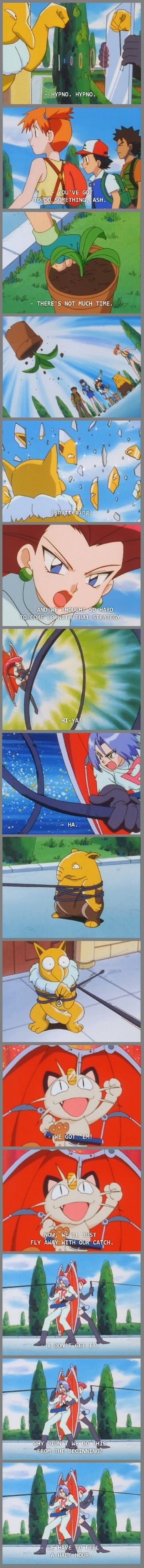 Pokemon breaking the fourth wall
