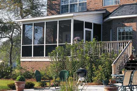 Photo:  | thisoldhouse.com | from Faster Way to Install Porch Screens