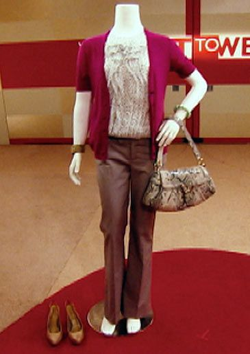 BODY TYPE: Curvy THE LOOK: Professional/casual wear THE RULES: Stacy: ...
