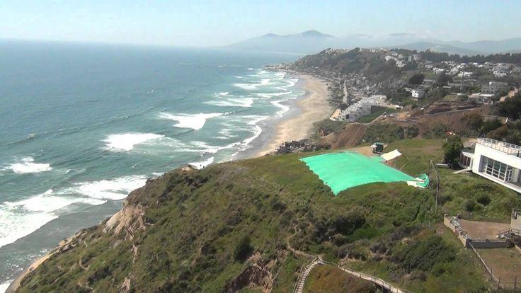 Parapente, sobrevolando Playa Aguas Blancas