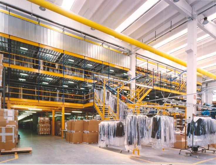 Abbigliamento - gestione magazzino #warehouse management