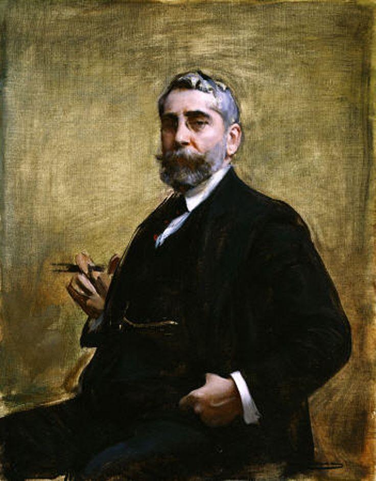 Ramón Casas i Carbó- autoritratto