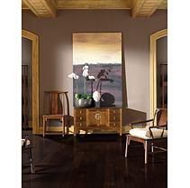 "Inspired Elegance by Mohawk 5.25"" Rich Hickory Soft Scraped Engineered Hardwood Flooring"