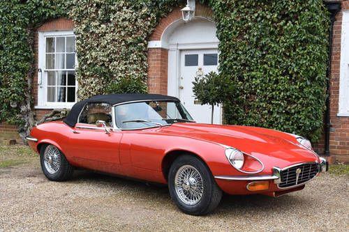 1973 Jaguar E-Type V12