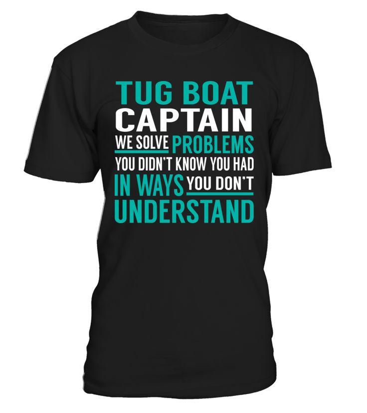 Tug Boat Captain - We Solve Problem
