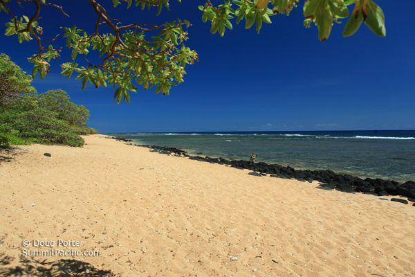 Kauai Larsen Beach | larsen s beach is also known as ka aka aniu larsen s beach or