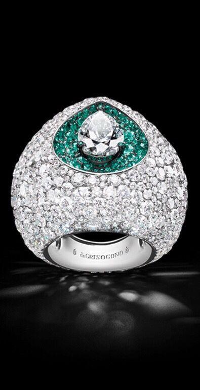 Rosamaria G Frangini | High Diamond Jewellery | Diamonds, Emeralds and 18K White…