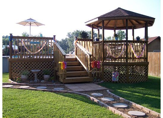 Best 25 pool decks ideas on pinterest for Above ground pool decks for small yards