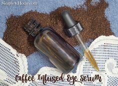 DIY Coffee Infused Eye Serum