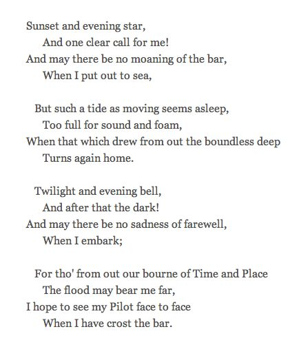 alfred lord tennyson s poem a farewell Alfred lord tennyson 1809- 1892 home a farewell come into the his father's artistic capabilities were transmitted to alfred who wrote poems whilst a teenager.