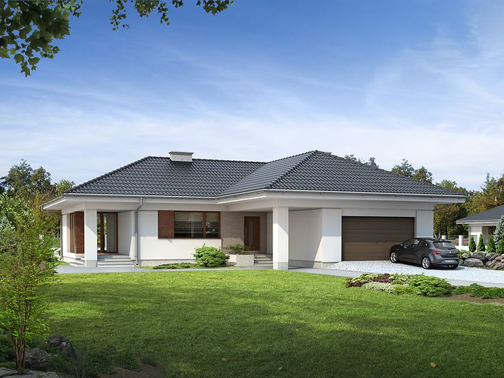 Projekt domu MT Ambrozja - DOM ST6-88 - gotowy projekt domu