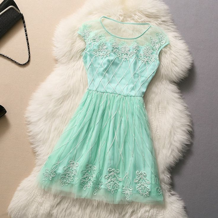 Embroidered Temperament Dress
