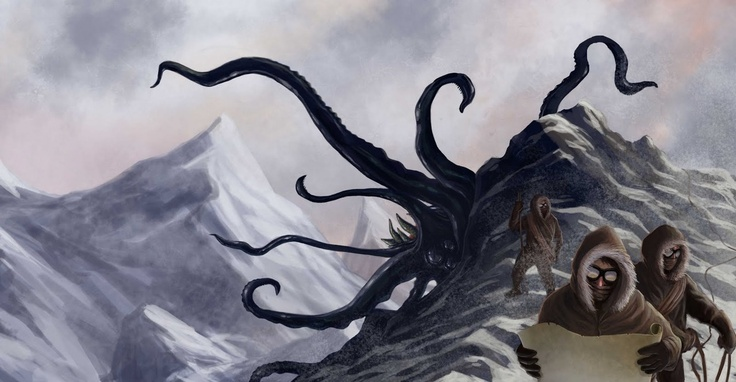 At The Mountain of Madness by Steve Richards: De Lovecraft, At The Mountain Of Mad, Cthulhu Mythos, H P Lovecraft, Hp Lovecraft, Mine Lovecraft, Lovecraft Cthulhu, Photos Shared
