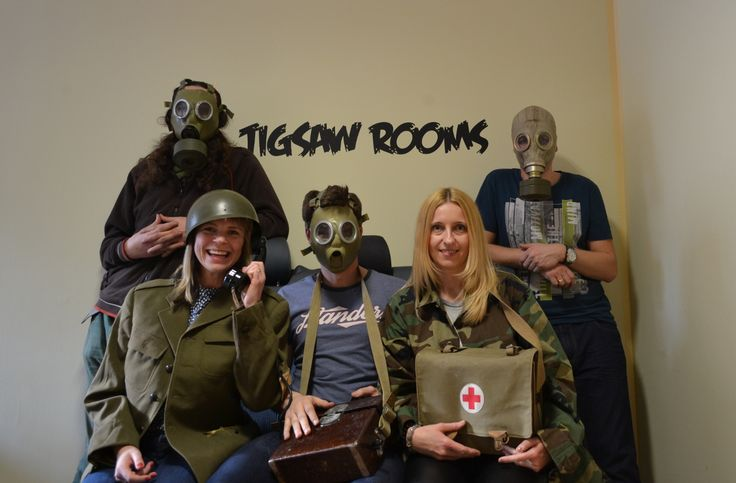 #escape #room #military #katowice  #jigsaw #afterwork #fun #creative #together