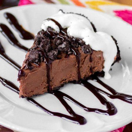 Сливочный Замороженный Nutella пирог - Посыпать сахар