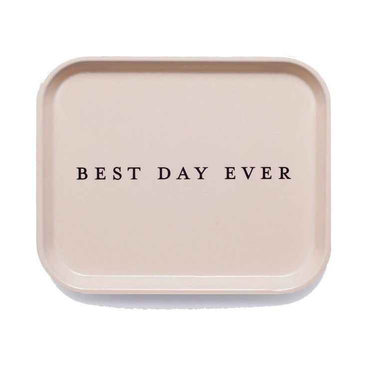 Best Day Ever Catchall Tray - Waiting On Martha - 1