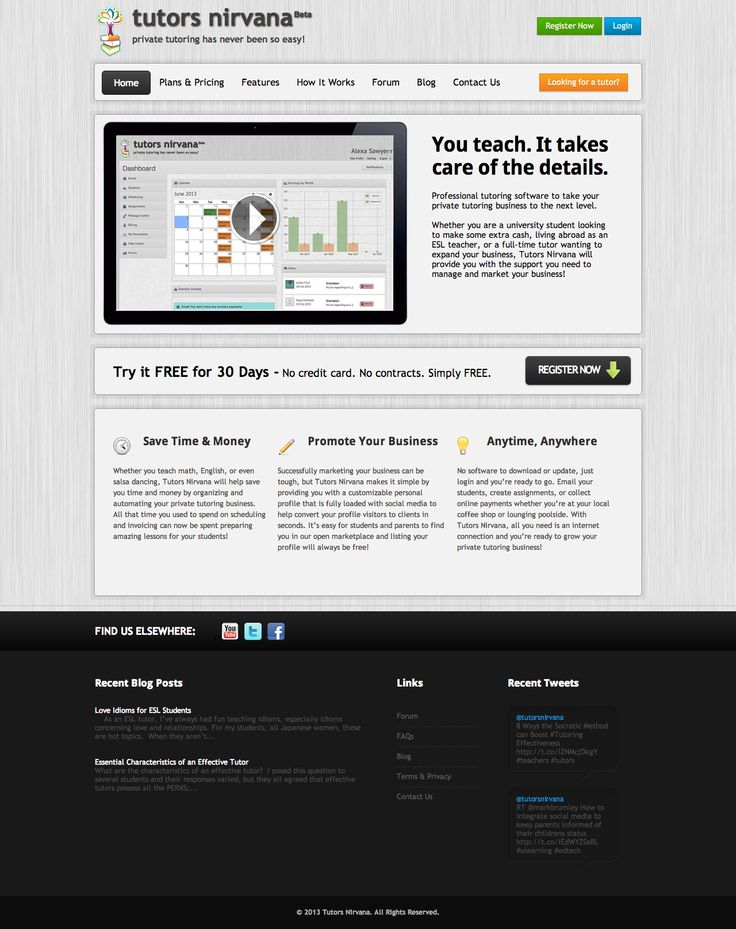 Tutors Nirvana's Home page -  Come visit us at http://www.tutorsnirvana.com/