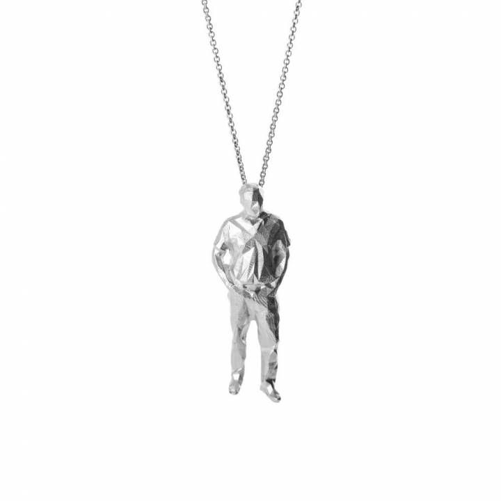 Low Poly Standing Man - Pendant image