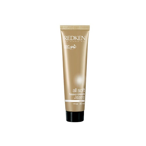 Redken All Soft Heavy Cream | Soften hair like never before! Formulated with Redken's exclusive new delivery system, the Interlock Protein Network™ and Keratin Enrich Complex, Redken's all soft heavy cream dramatically transforms the texture of dry, brittle hair. Argan oil-enriched formulas restore hair's protein, comprised of keratin, for renewed elasticity and intense softness.