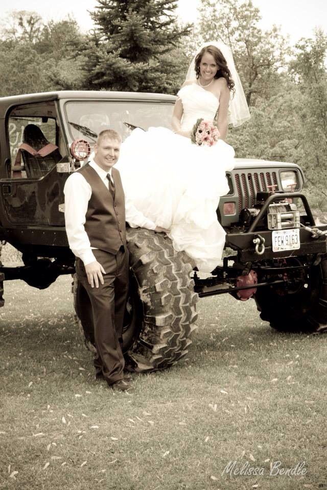 #countrywedding #jeeps #mudder