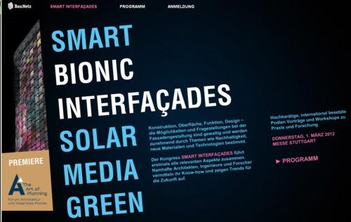 smart-interfacades-2012-stuttgart lectures  .... #smart #facades #solar #architecture