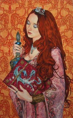"Avalon Camelot King Arthur:  ""#Morgan #La #Fey,"" by Ed Org."