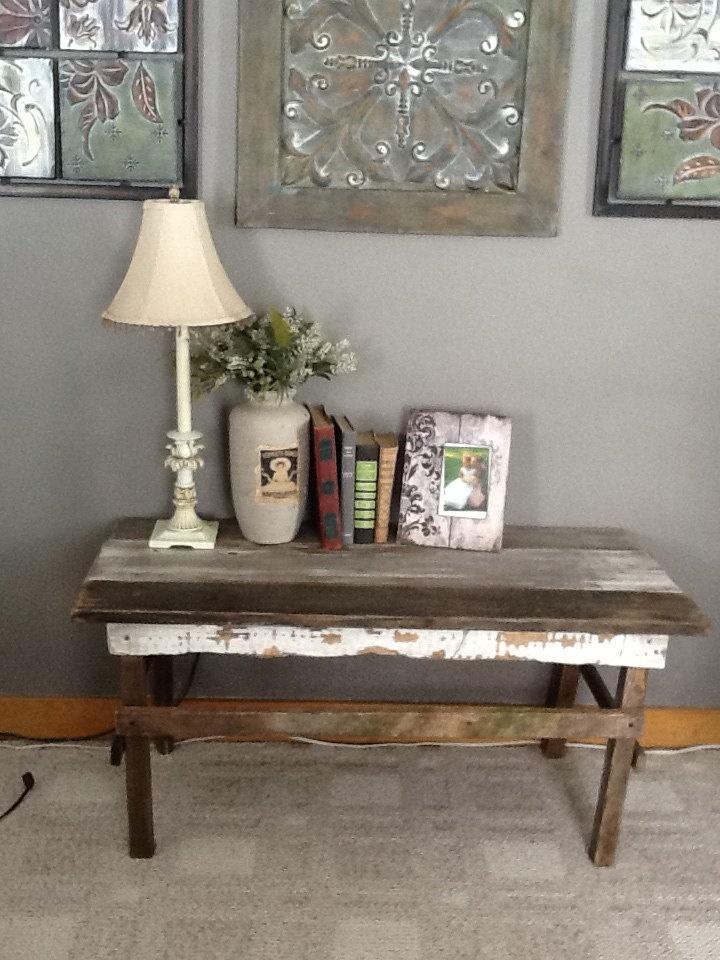 Barn board coffee table barn board pinterest for Barn board coffee table