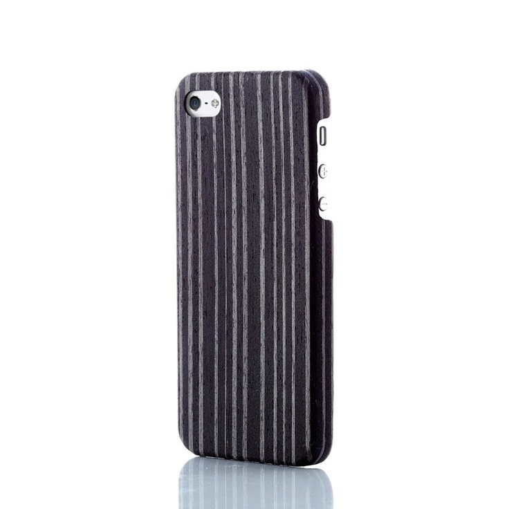 Evouni Ultra-Slim Wooden Case for iPhone 5 - Ebony