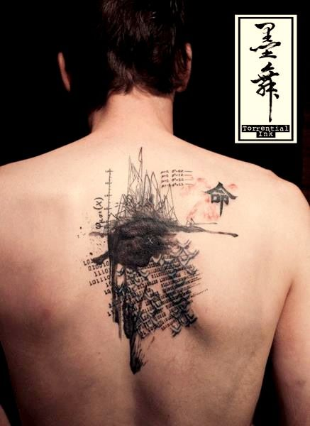 36 best images about tattoos on pinterest my love for for Chest mural tattoos