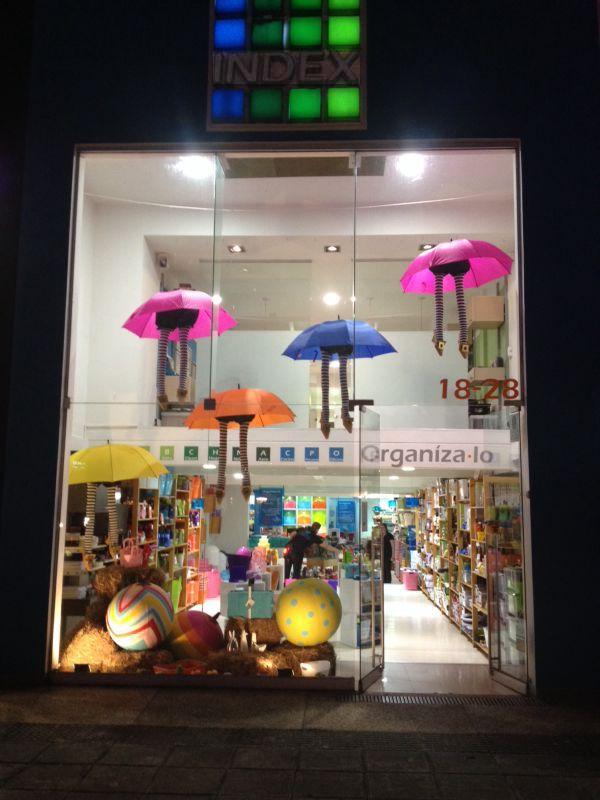 Conoce nuestras vitrinas de halloween INDEX, almacén calle 109.