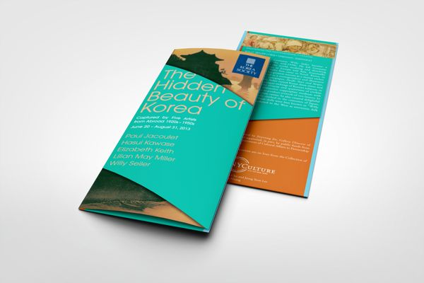 The Hidden Beauty of Korea: Exhibition Brochure on Behance