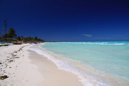 The beach in Cayo Guillermo - Cuba