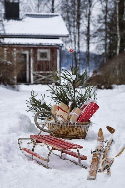 Winter Gifts ............................................. (rustic, country, western, Christmas)