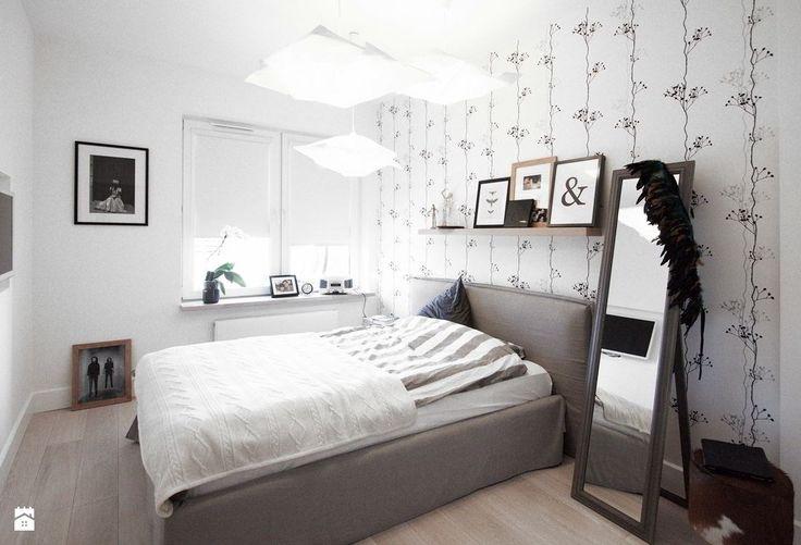Apartament skandynawski - zdjęcie od Soma Architekci - Sypialnia - Styl Skandynawski - Soma Architekci