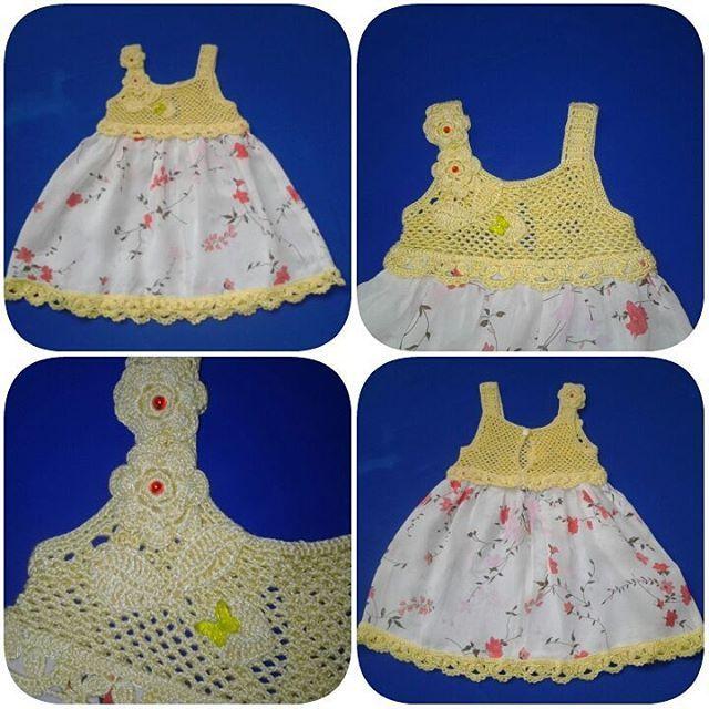 Платье-сарафанчик  для маленькой принцессы.