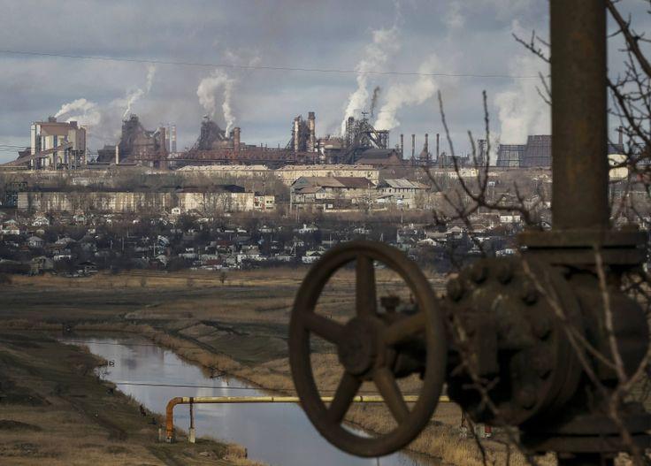 The steelworks of Mariupol' Ukraine [840x602]