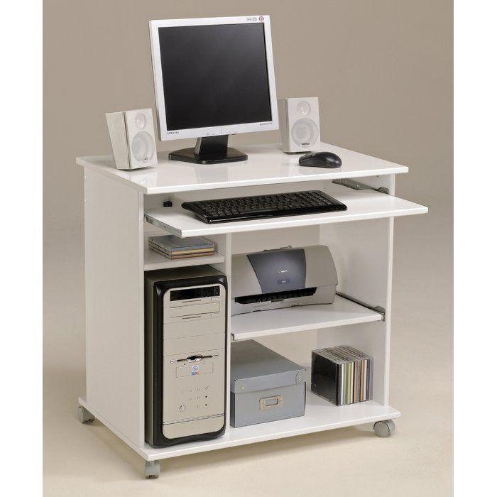 Thomasin Computer Desk Meuble Informatique Meuble Ordinateur