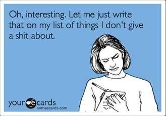 i need one of those lists