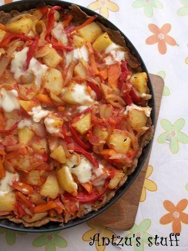 Tarta integrala cu cartofi - www.Foodstory.ro