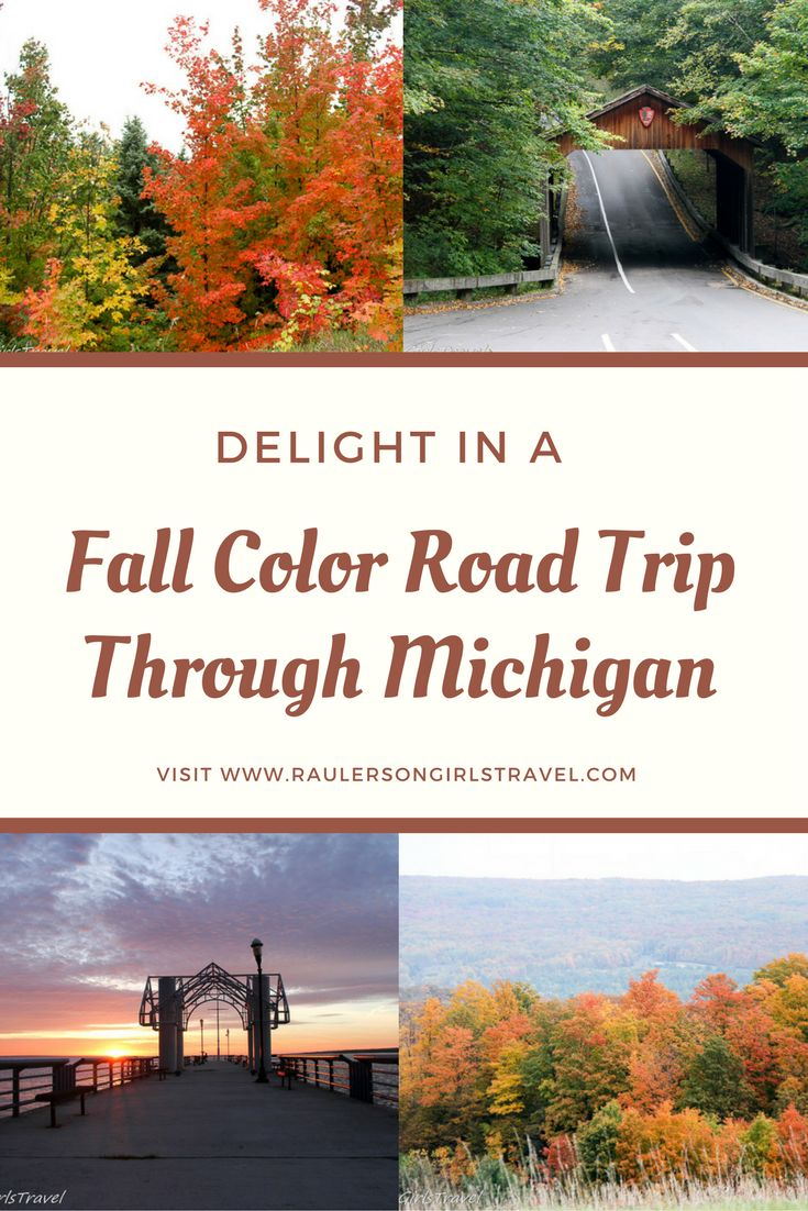 Fall Color enthusiasts will love seeing the explosion of colors on the best Fall Color Road Trip Through Michigan. Come and see for yourself!