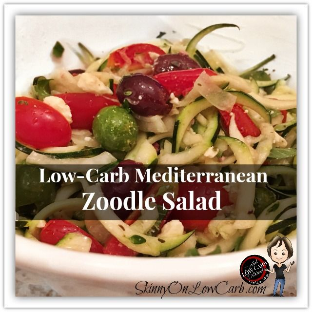 Low Carb Salads That Will Make You LOVE Your Greens! - SKINNY on LOW CARB