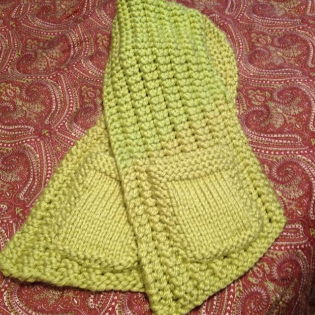 Pocket scarf knitting patterns Pinterest