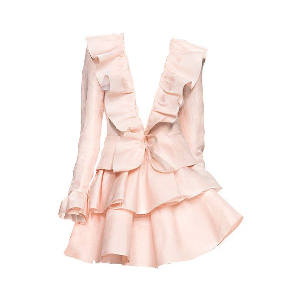 Satinee's collection - Luisa Beccaria ❤ liked on Polyvore featuring dresses, vestidos, short dresses, pink, luisa beccaria, luisa beccaria dress, pink mini dress, pink dress and mini dress