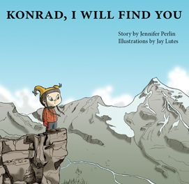 "Konrad is about to start school and is worried. ""What if you can't find me?"" His parents assure him he will always be found, no matter where - at school, on a mountain, or even in outer space! A charming story addressing separation anxiety, written by Jennifer Perlin and illustrated by Jay Lutes"